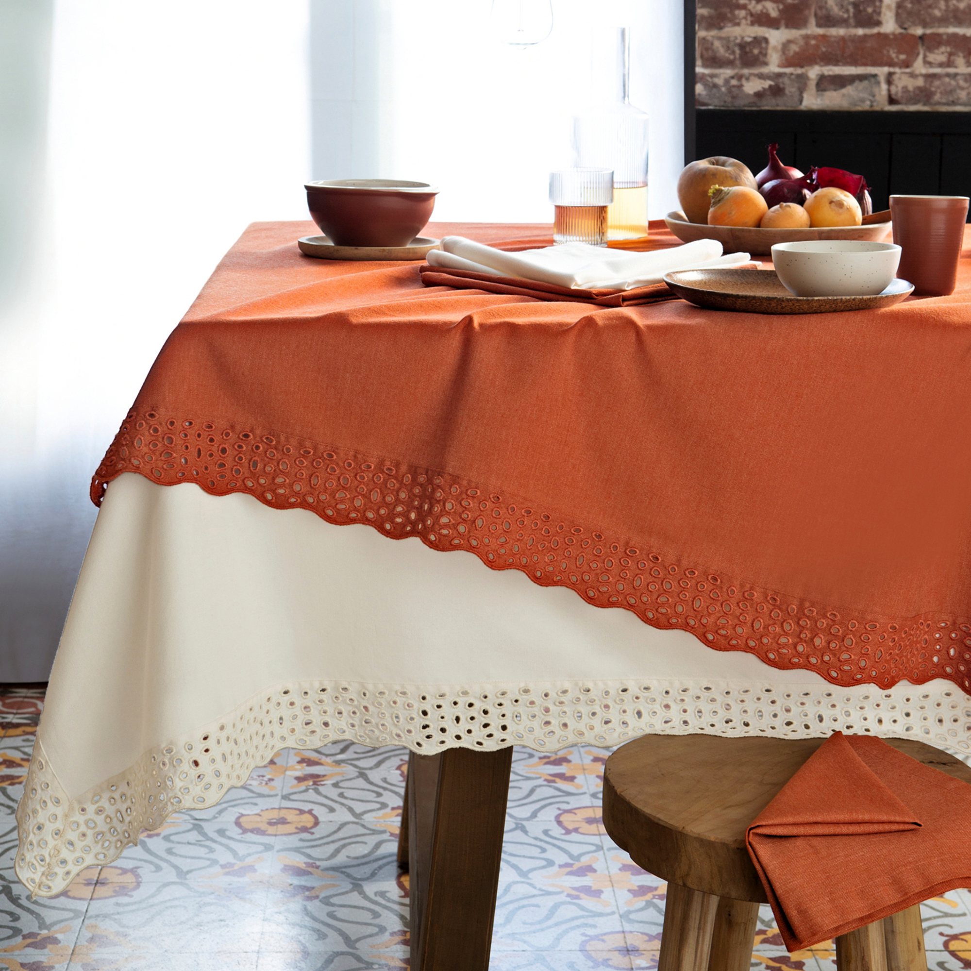 Tischdecke Tischlein deck dich