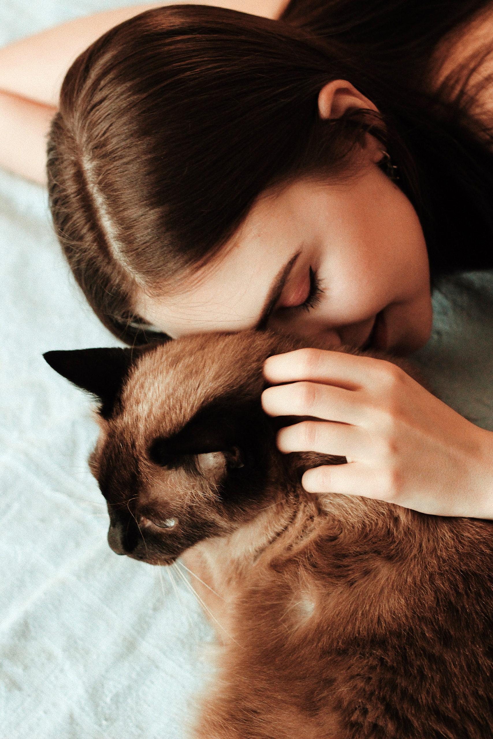 Mithilfe des PROCEANIS® Hyaluron Drinks wird auch deine Haut so streichelzart wie das Fell einer Katze