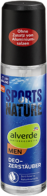 alverde NATURKOSMETIK MEN Sports Nature Deo Zerstäuber