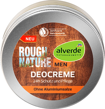 alverde NATURKOSMETIK MEN Rough Nature Deocreme