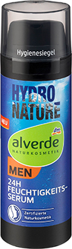 alverde NATURKOSMETIK MEN Hydro Nature 24h Feuchtigkeitsserum