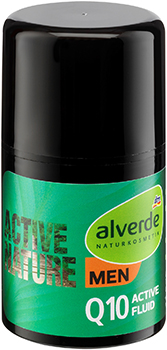 alverde NATURKOSMETIK MEN Active Nature Q10 Active-Fluid