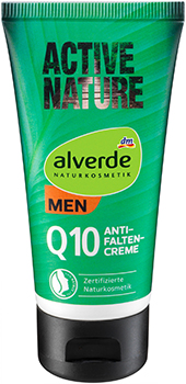alverde NATURKOSMETIK MEN Active Nature Q10 Anti-Falten-Creme