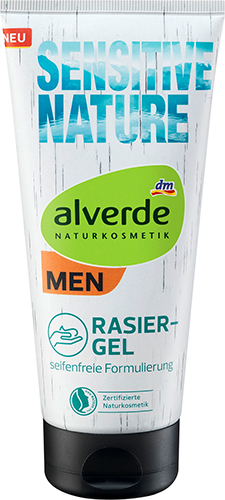 alverde NATURKOSMETIK MEN Sensitive Nature Rasiergel