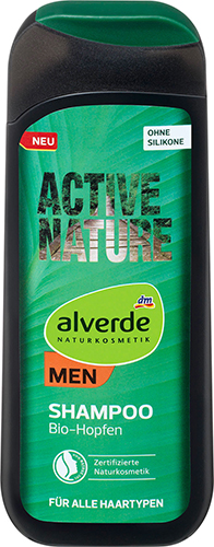 alverde NATURKOSMETIK MEN Active Nature Shampoo