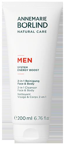 ANNEMARIE BÖRLIND MEN 2-in-1 Reinigung Face & Body