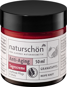 alverde NATURKOSMETIK naturschön Granatapfel Anti-Aging Tagescreme