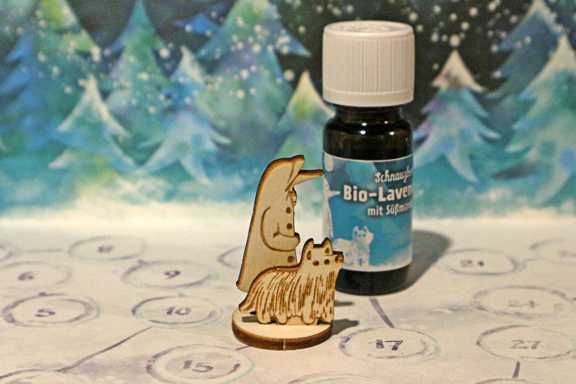Schnauzberts Lavendelöl unterstützt dich bei euren Entspannungsübungen