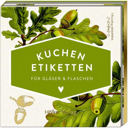 Küchen-Etiketten Eichenblätter