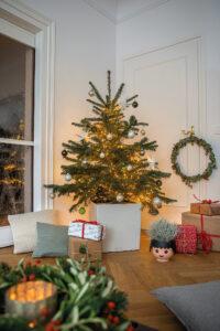 Weihnachtsbaum im CUBE Premium