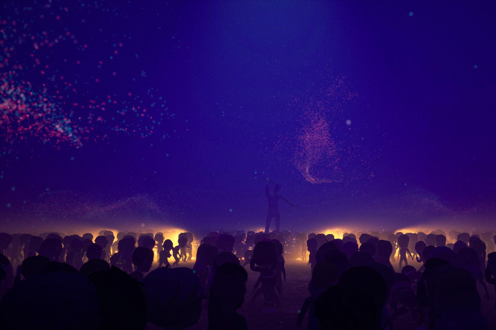Icelands Thingvellir virtual stage