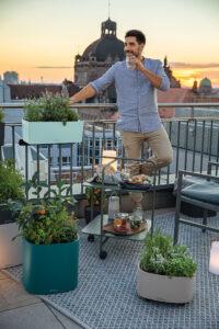 Happy Hour auf der Dachterrasse? Mit PILA kein Problem!