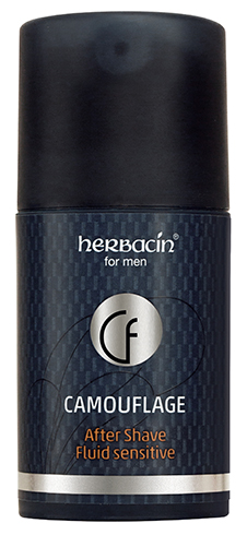 Herbacin for men Camouflage After Shave Fluid sensitive