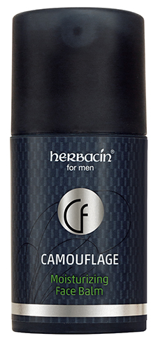Herbacin for men Camouflage Moisturizing Face Balm