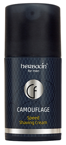 Herbacin for men Camouflage Speed Shaving Cream