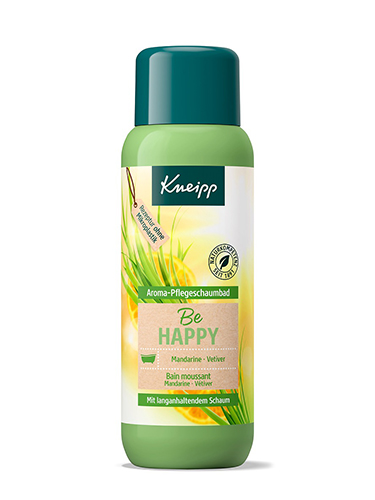 Kneipp Aroma-Pflegeschaumbad Be Happy
