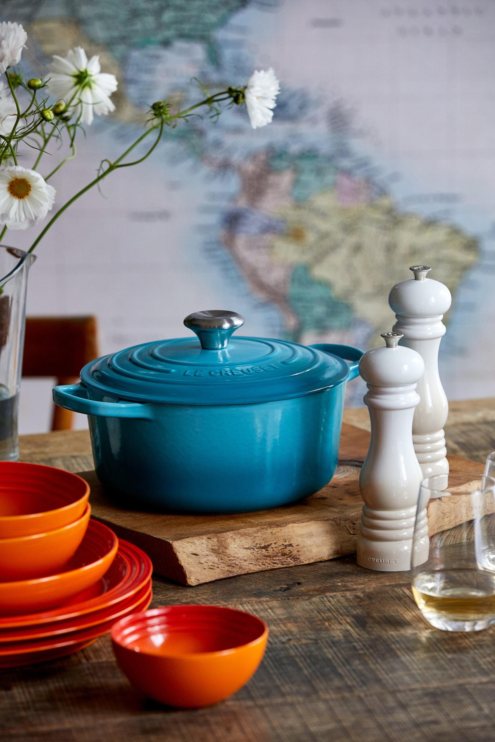 Träume dich beim Kochen mit Le Creuset in ferne Länder