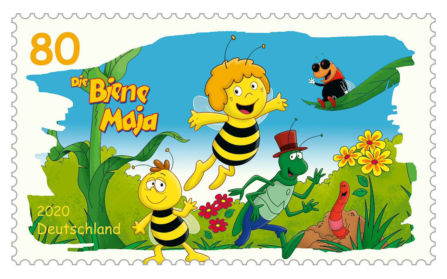 Platz 1: Die Biene Maja