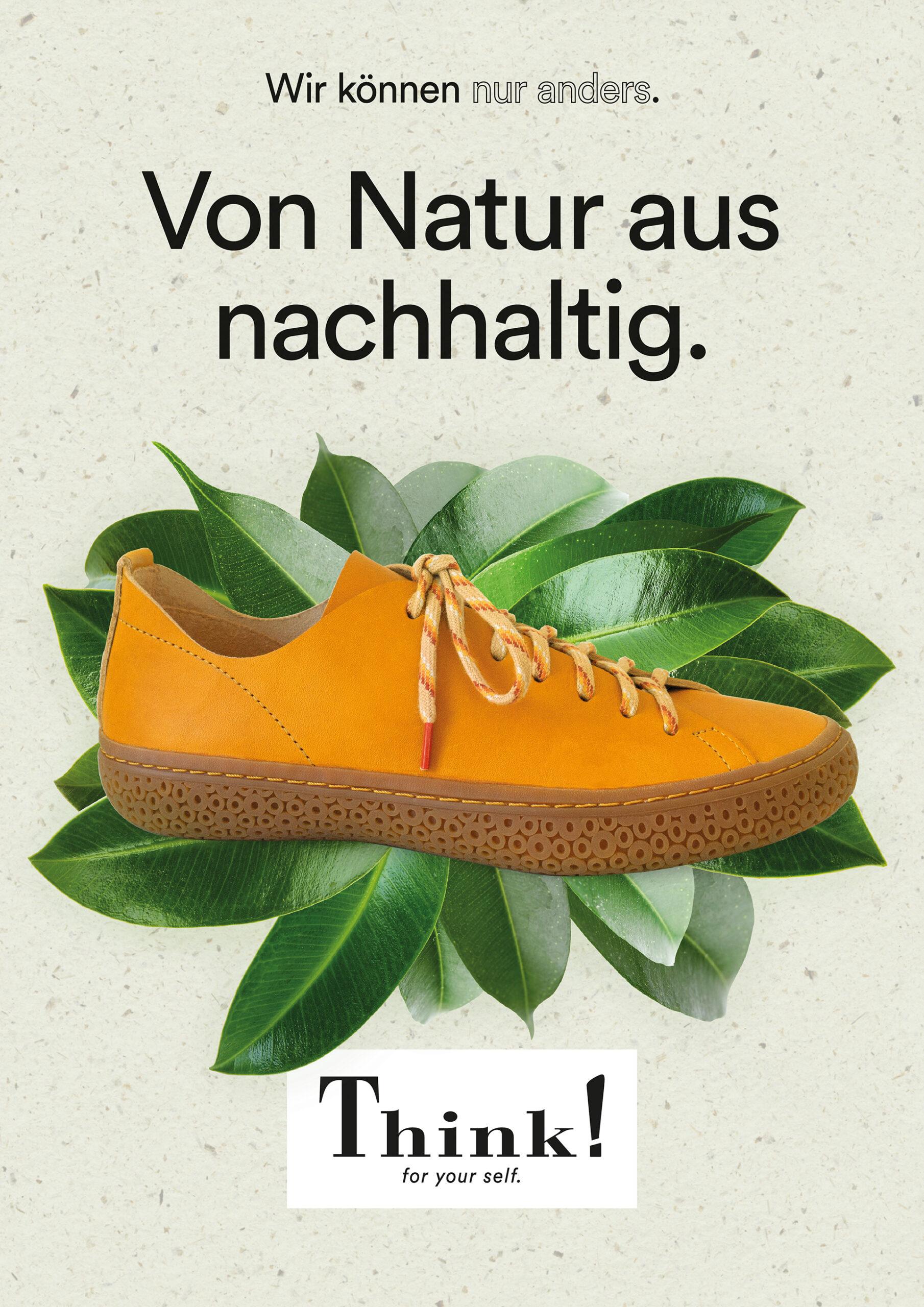 Wir können nur anders. Von Natur aus nachhaltig. TJUB.