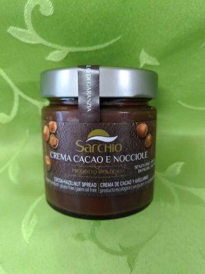 Crema di cacao e nocciole 200 gr.