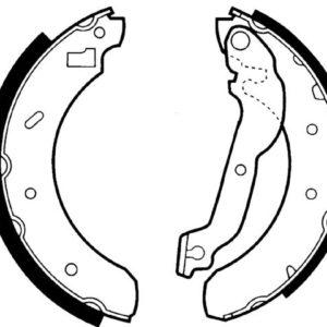 Bremsebakkesæt, Ford Escort V/VI/VII
