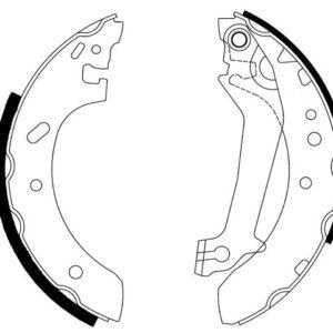 Bremsebakkesæt, Ford Escort/Fiesta
