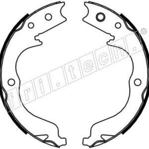Håndbremsebakkesæt, Citroen/Mitsubishi/Subaru