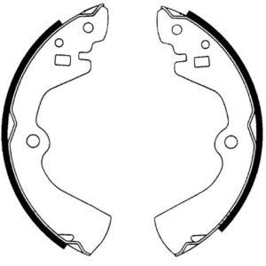Bremsebakkesæt, Nissan/Hyundai