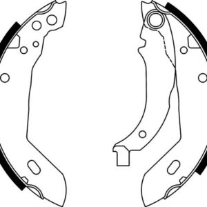 Bremsebakkesæt, Peugeot/Citroen