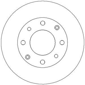 Bremseskive, for ( Rover, Honda )