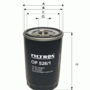 FILTRON Oliefilter ( Ford, Morgan, Mazda, Chrysler, Jeep, Mercedes )