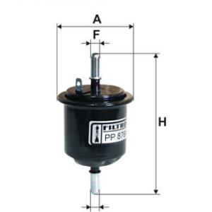 Brændstoffilter ( Hyundai, Accent (LC) )