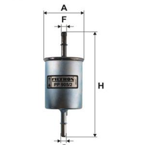 FILTRON Brændstoffilter ( Daewoo, Chevrolet )