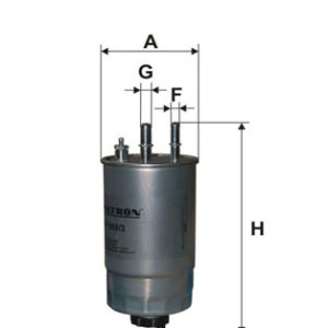 Brændstoffilter ( Alfa Romeo, Fiat, Opel, Peugeot, Citroen )