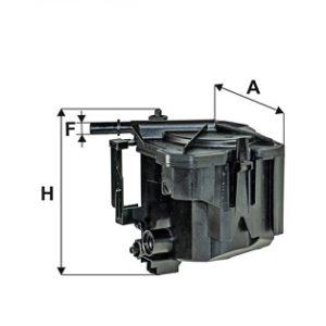 FILTRON Brændstoffilter ( Ford, Mazda, Mini, Peugeot, Citroen, Fiat, Volvo )