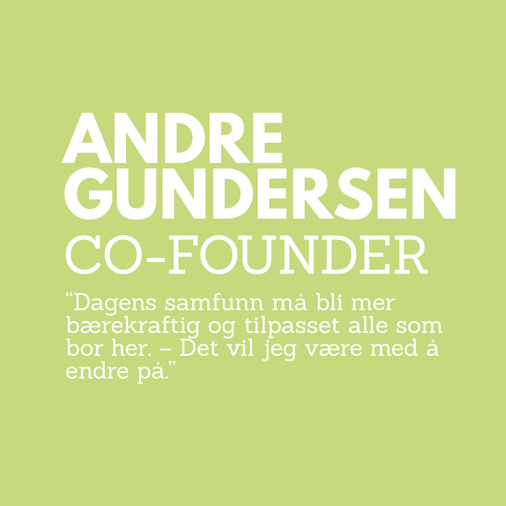 Andre Gundersen Co Founder