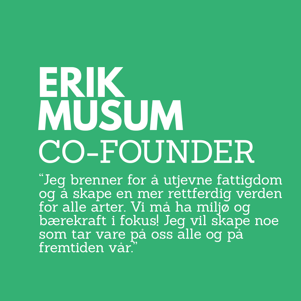 Erik Musum Co Founder