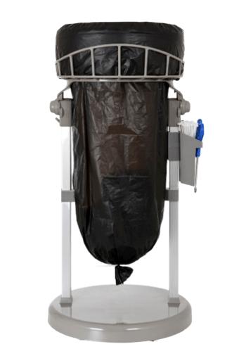 Affaldsstativ med sort mini standard pose