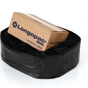 sort affaldspose
