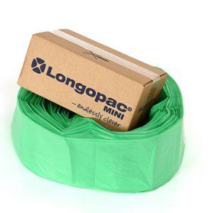 Grøn affaldspose