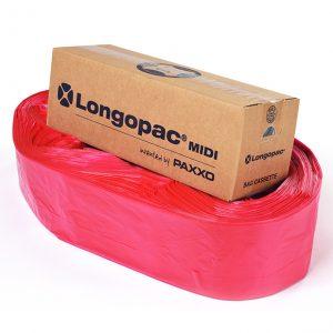 rød affaldspose