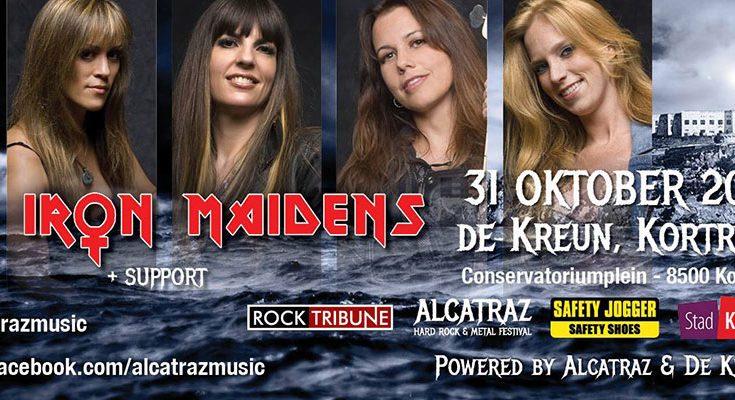 The Iron Maidens at De Kreun (Kortrijk)