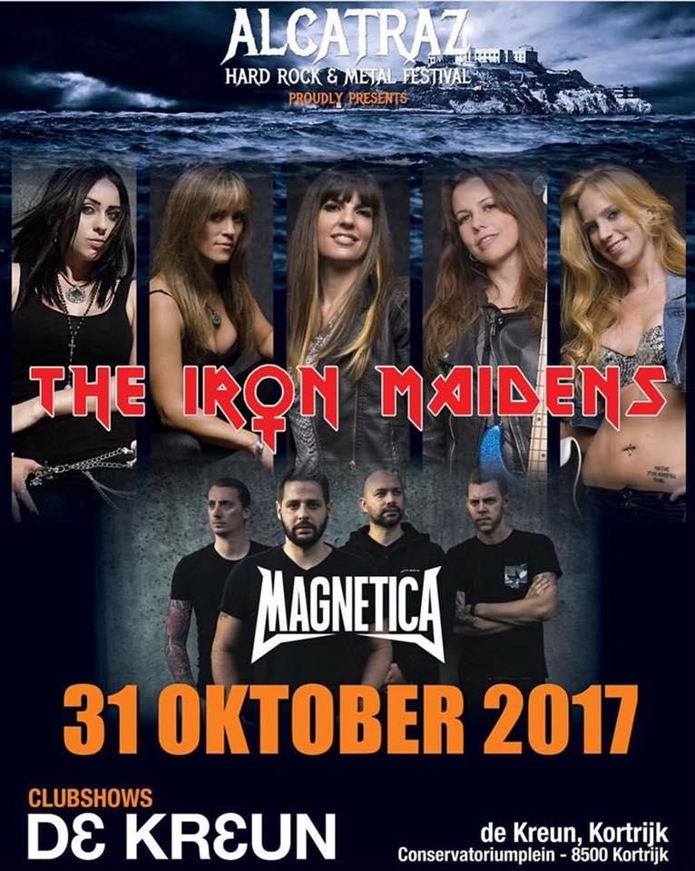 The Iron Maidens + Magnetica at De Kreun