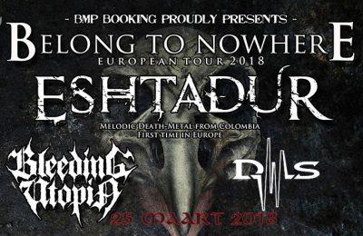 Eshtadur, Bleeding Utopia and Deformus live at Asgaard