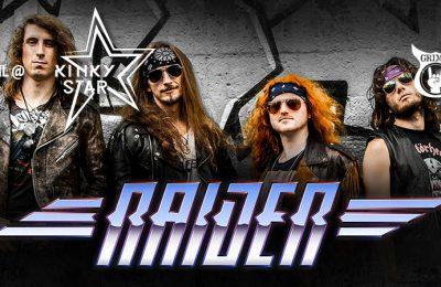 Raider live at Muziekcentrum Kinky Star
