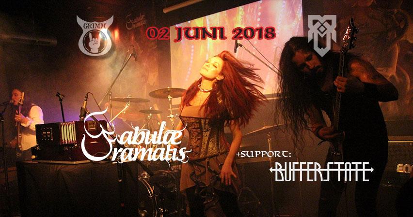 Fabulae Dramatis and BufferState live at Asgaard