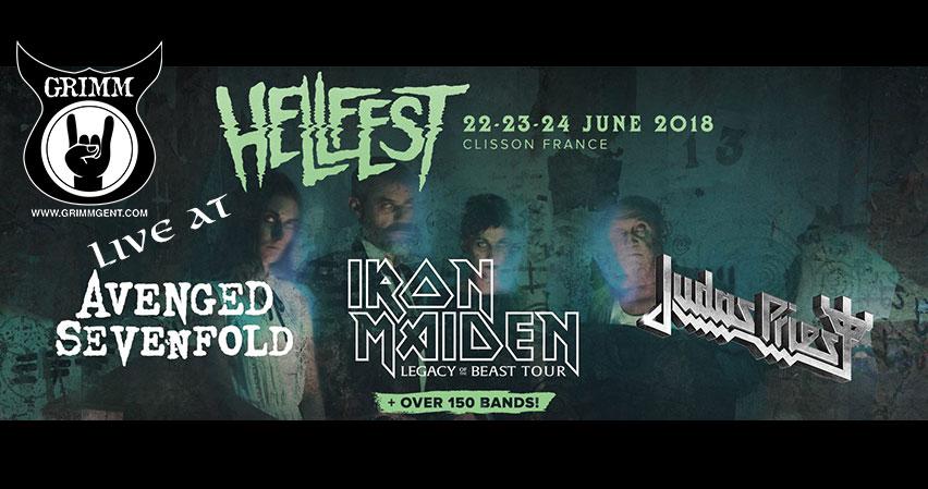 GRIMM live at Hellfest 2018