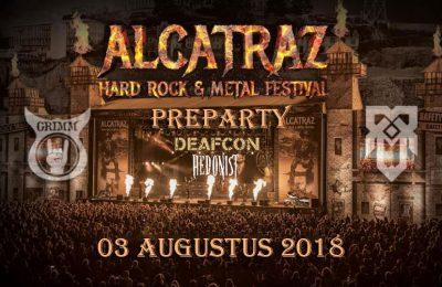 Alcatraz Preparty 2018 : Deafcon + Hedonist