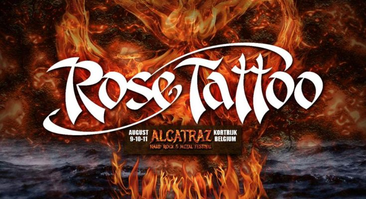 Rose Tattoo at Alcatraz 2019