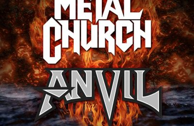 Metal Church and Anvil at Alcatraz 2019!